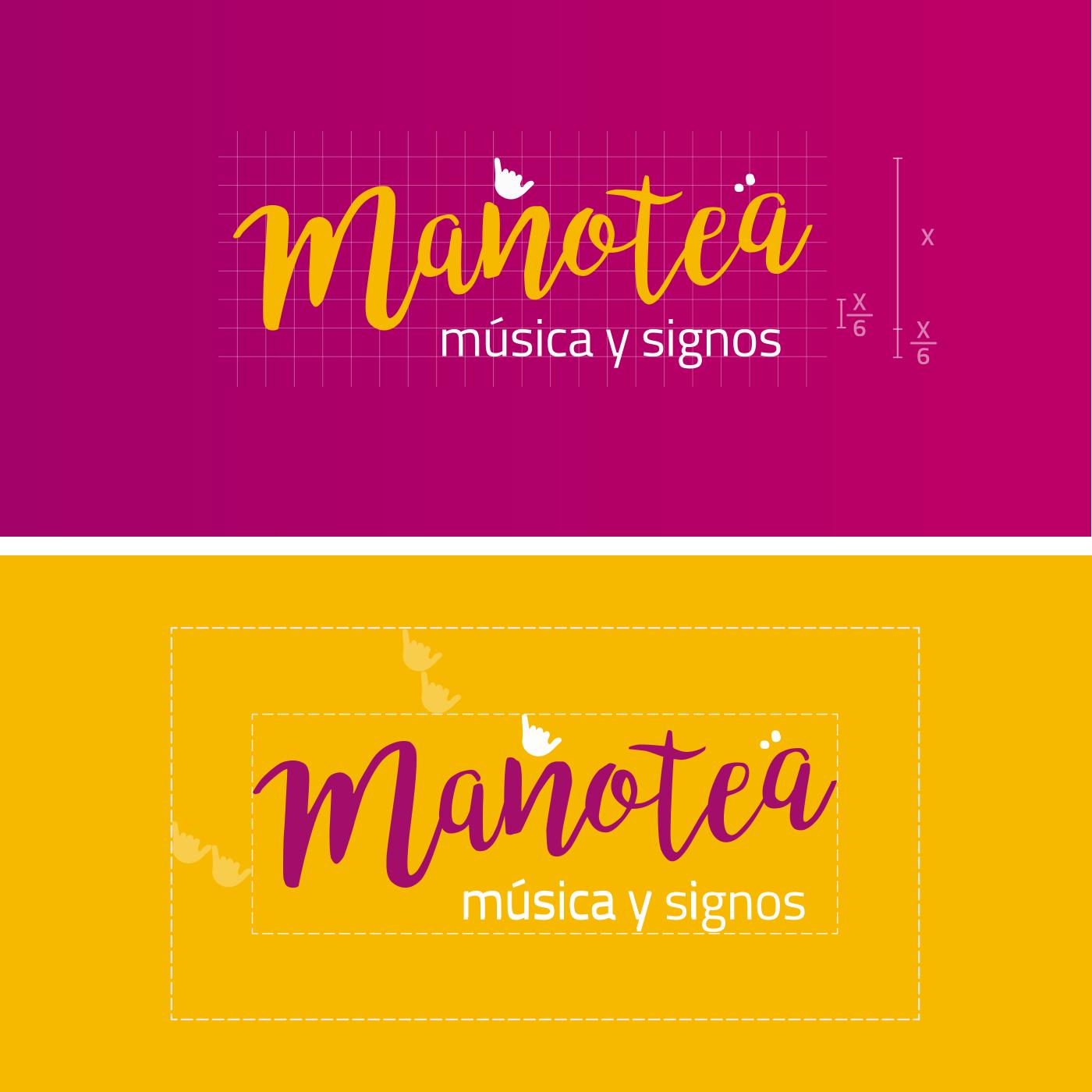 Manotea | Diseño Logotipo Aloha Gran