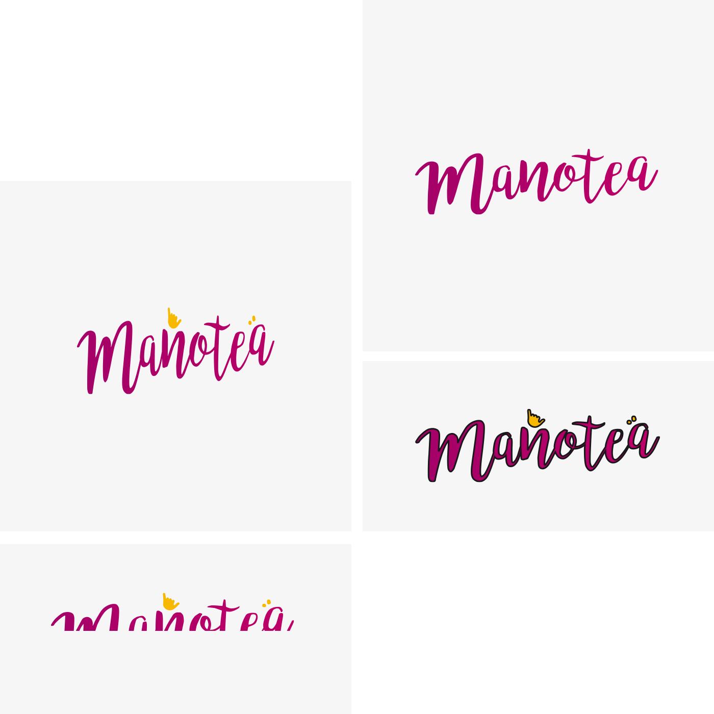 Manotea | Que no hacer con tu logo. Aloha Gran